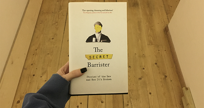 The Secret Barrister's debut book is the perfect deterrent