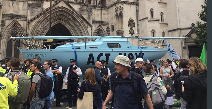 Extinction Rebellion protests block traffic in five United Kingdom cities